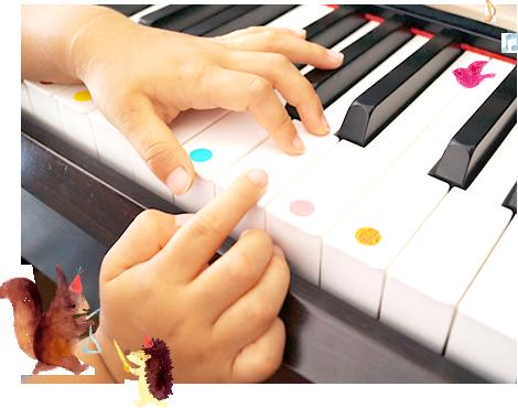 ピアノを習わせるにはまだ早いかな?という方へ